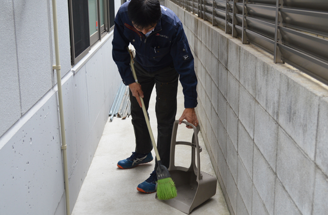 清掃(社内)