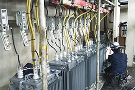 キュービクル事業 高圧電気室改修