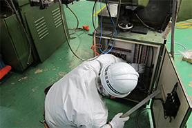 工場の動力電源工事
