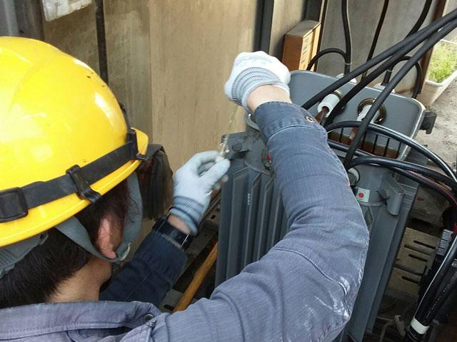 step2.採油、PCB検査、保管